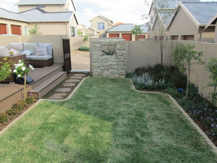 by too much hard landscaping in this small garden we positioned garden ...