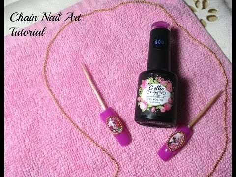 Chain Nail Art Tutorial