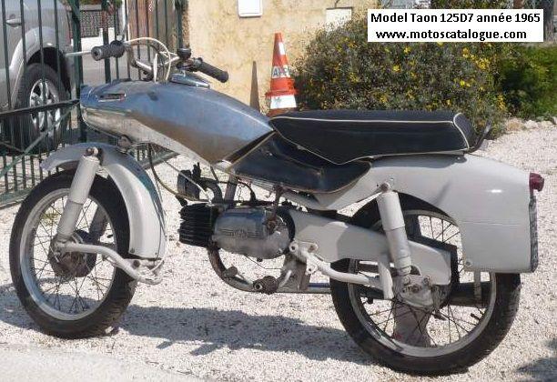 1965 Derny (France) Taon 125 DS7  125cc.