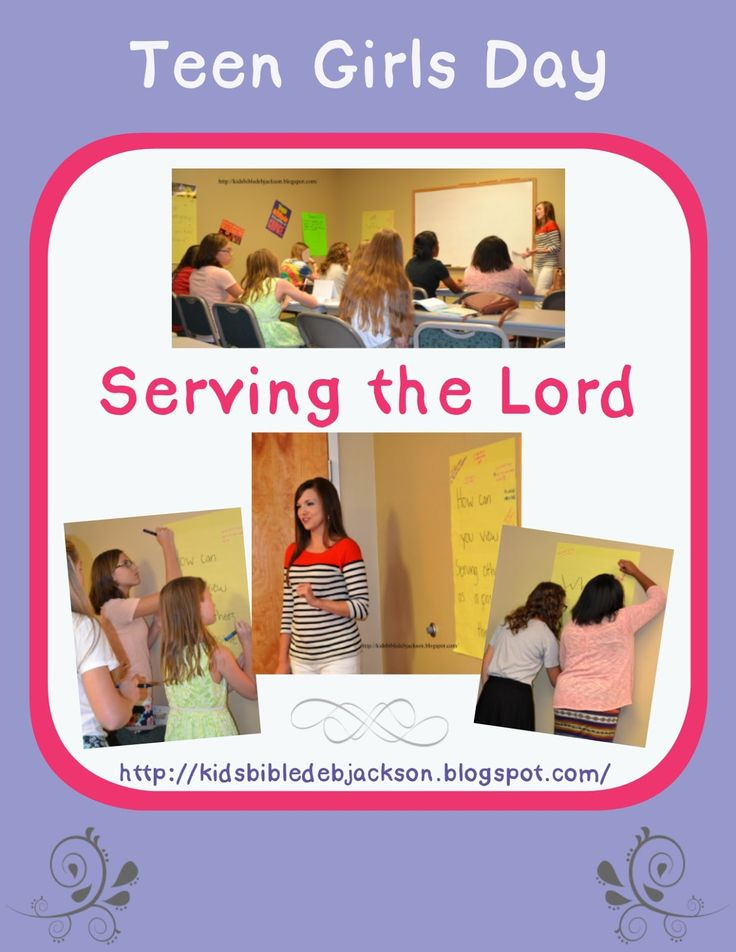 Teen Tuesday: Teen Girls Day & Service to God