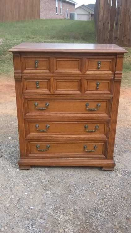drexel vintage dresser chest used in good condition 40 22 l x 20 22 rh pinterest com