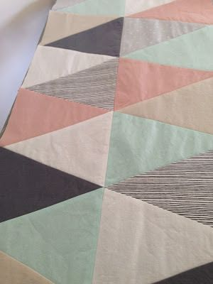 An Isosceles Puzzle – Tips for Making a Triangle Quilt |