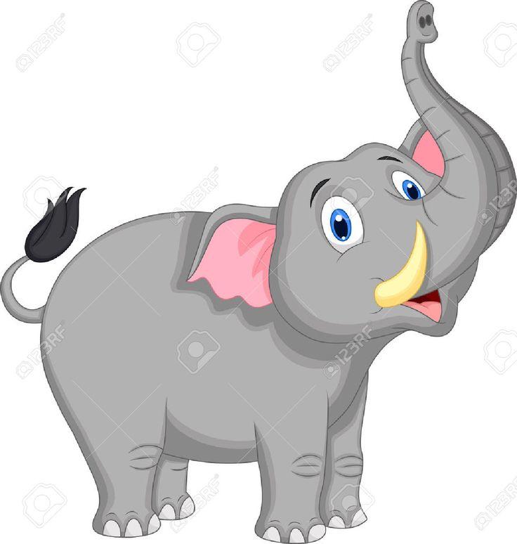resultado de imagen para elefantes Caricaturas silueta