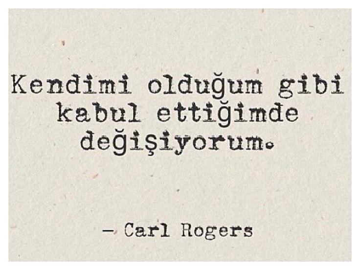 ~ Carl Rogers