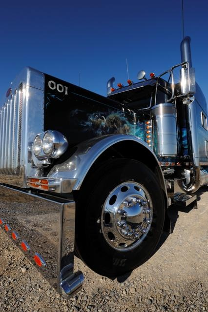Picture Of Big Rig Headlights : Best images about kenworth wl on pinterest