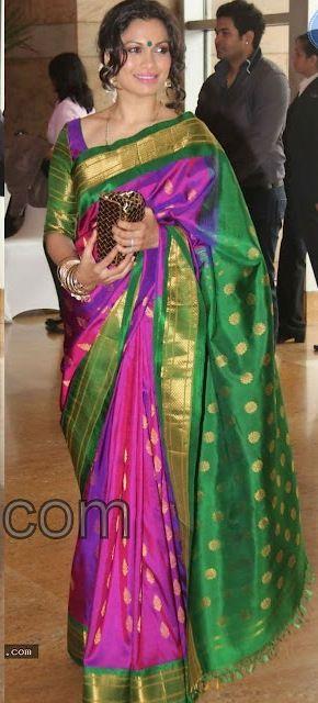 Kanchipuram Silk Sarees | Sandhya Manne