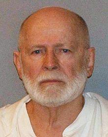 A mugshot of Whitey Bulger taken after his arrest in 2011