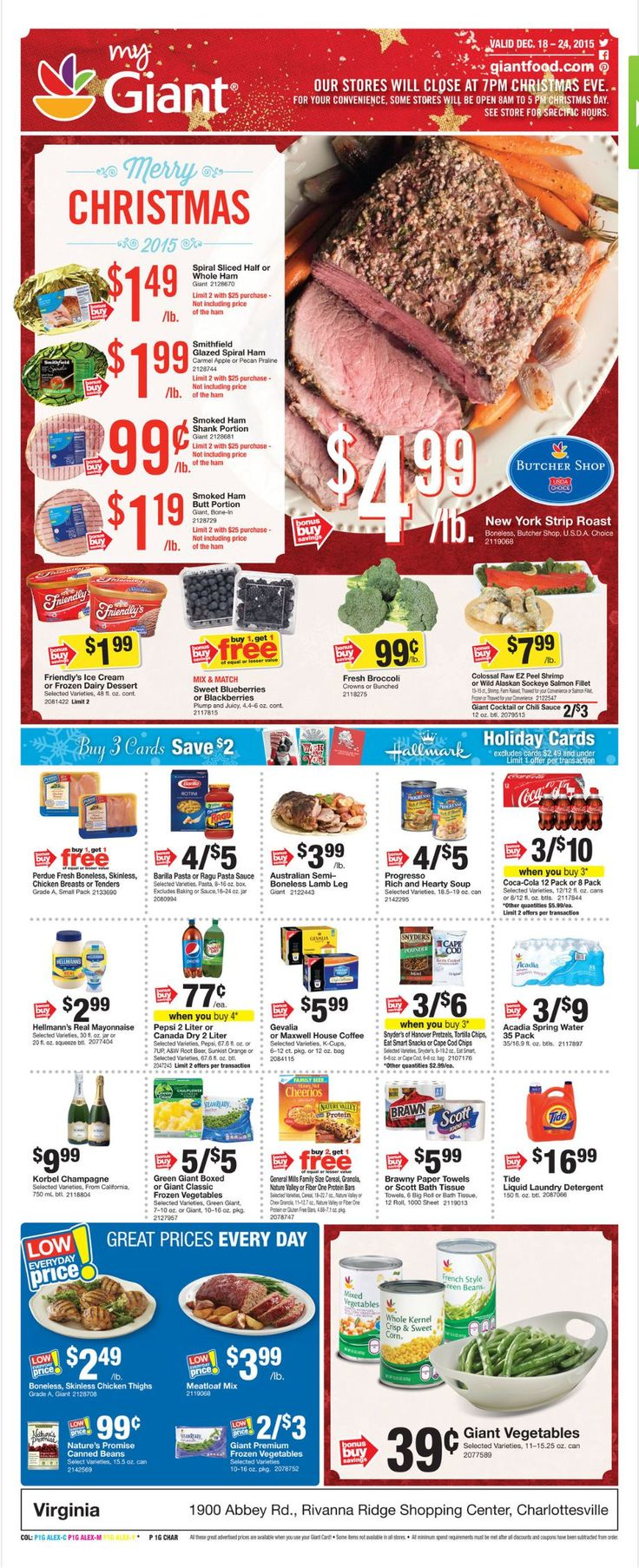 Giant Food Weekly Ad December 18 - 24, 2015 - http://www.olcatalog.com/grocery/giant-food-weekly-ad.html
