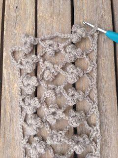 Flower Scarf: free #crochet pattern