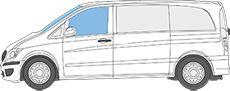 Magnet-Thermomatten Mercedes-Benz Viano, Vito 2003-2014