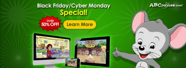 The Best Online 'Learn to Read' Software ABC Mouse.com's Cyber Monday Special