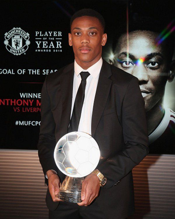 Anthony Martial, Goal of the Season 2015/16