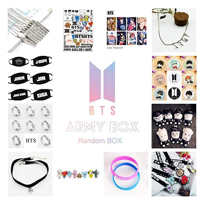 Kpop Bts Army Box Bangtan Boys Bts Album High Guality Gift Case For Jungkook Jimin V Bracelet Button Necklace Random Love Yourself Album Bangtan Boys Bangtan