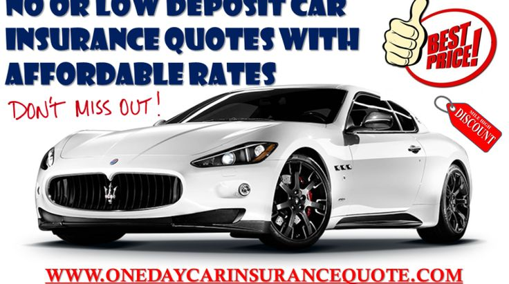 Low Deposit Car Insurance for Young Drivers on Same Day Online