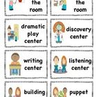 32 Center Signs perfect for early primary - TWO sizes  *check out my store for Canadian spelling  If there are any specific centers that you want t...