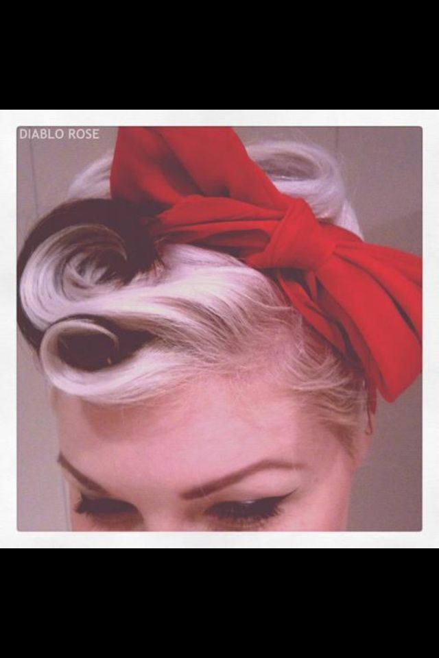 I would wear my hair like this every day if I could..