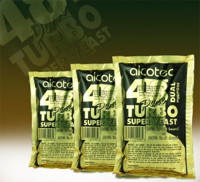 ALCOTEC 48 HOUR TURBO YEAST (UREA FREE)
