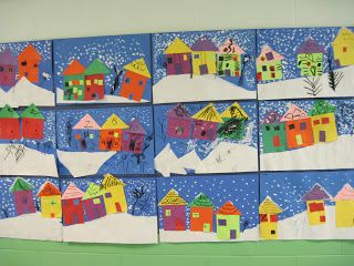 Houses and boats - great for shapes integration