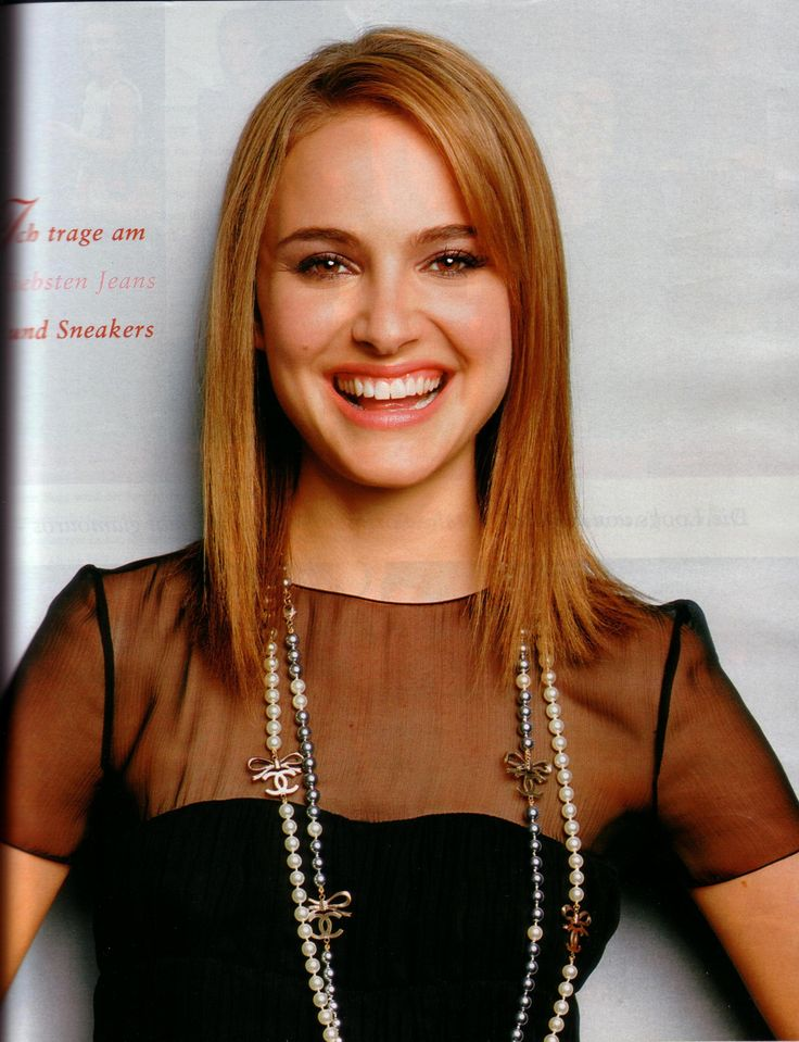 natalie portman in the april 2006 issue of instyle germany
