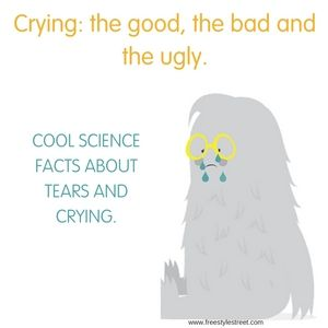 I found out some cool facts on crying and tears! What kind of crier are you? #crying #tears #science #funfacts #emotions #selfcare