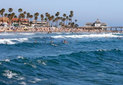 Costa Mesa is just minutes from the Pacific Ocean! #costamesa
