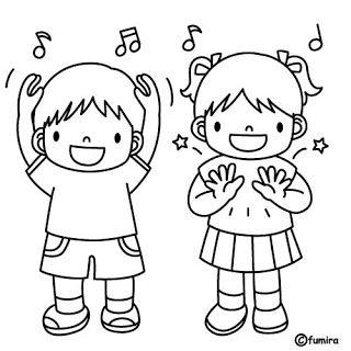 Infantil Mercedarias Sonidos Con El Cuerpo Music Dibujos Para