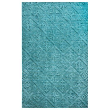 Rizzy Home Technique Hand-Loomed Area Rug 9 Ft. X 12 Ft. Blue Model TECTC827289090912