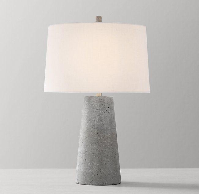 Lawton Table Lamp Base Concrete Table Lamp Diy Table Lamp Table Lamp