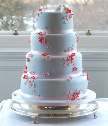 pink blue and white wedding cakes 17 best images about wedding theme on 18569