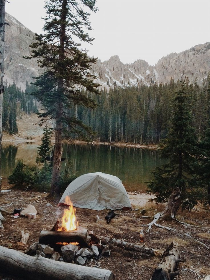 waterside campsite | camping + outdoors.