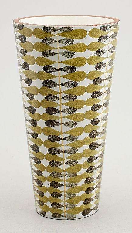 Stig Lindberg; Glazed Ceramic Vessel for Gustavsberg, c1960.
