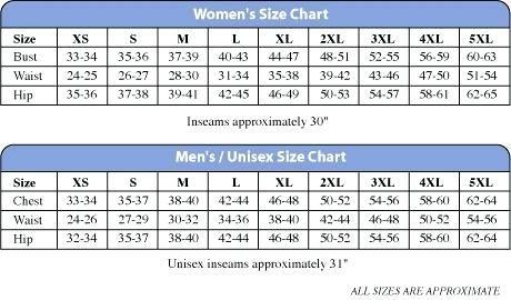Figs Scrub Pants Size Chart - Size chart, Scrub pants ...