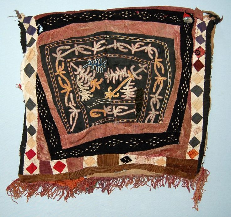 Kyrgyz nomads Tent cloth; made of cotton... British Museum