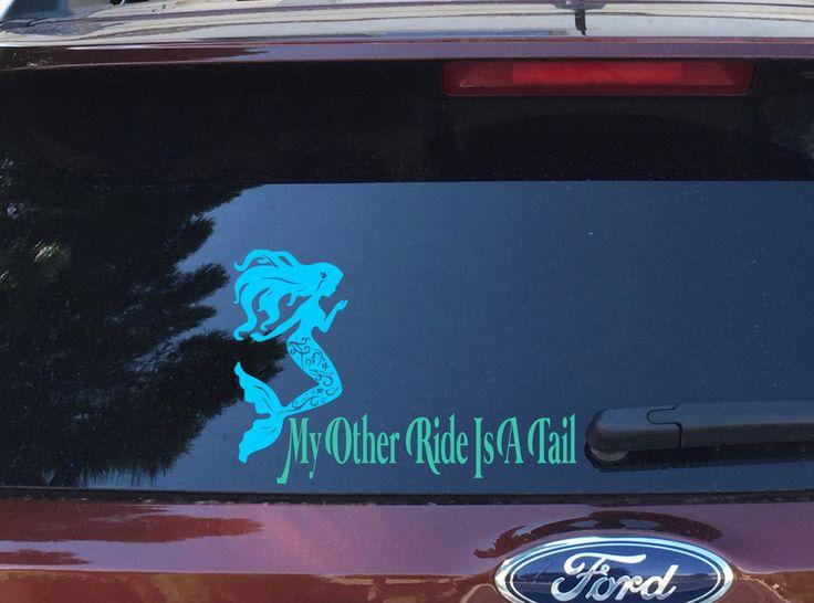 Best Vinyl Images On Pinterest - Mermaid custom vinyl decals for car
