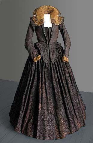 Dress worn by Marketa Lobkowicz, 1617, Mikulov Museum