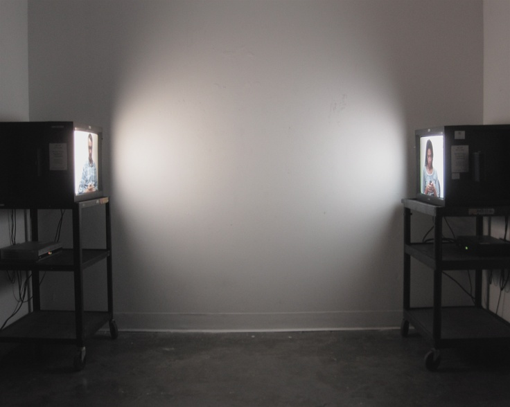 Morgan Bentham, Untitled Text, 2010. Video Installation.