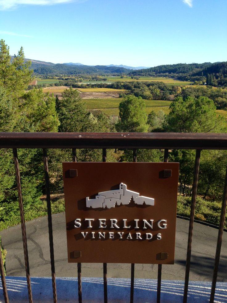 Image result for sterling vineyards entrance olive trees