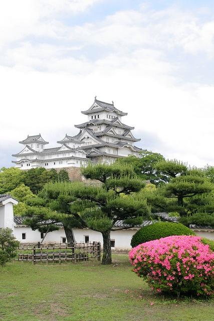 Himeji castle, Japan, 2008