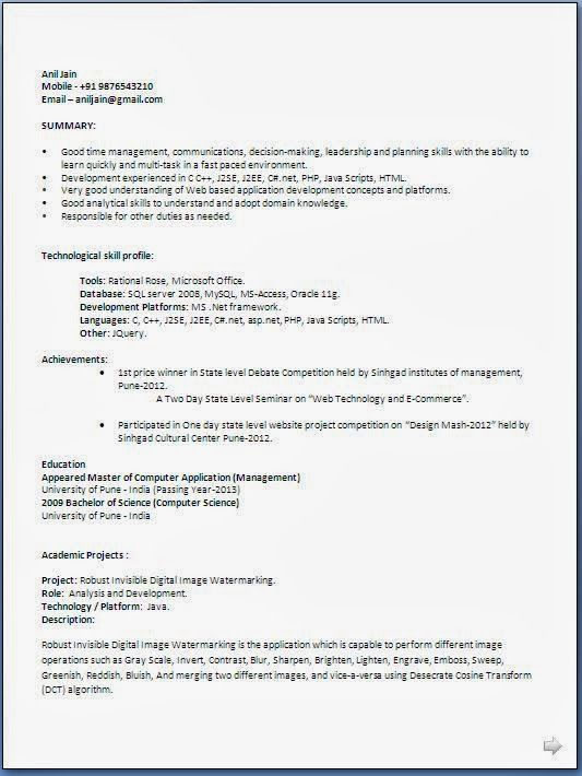 The 25+ best Resume format for freshers ideas on Pinterest - engineering resume