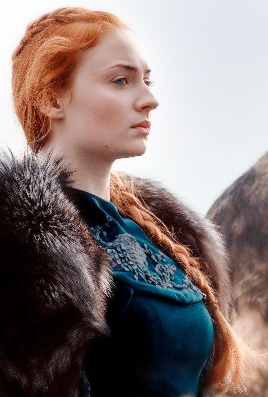 "♕ Sansa Stark in Game of Thrones 6.09 ""Battle of the Bastards"" ©"