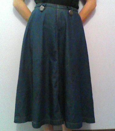 17 Best images about Denim - Skirts on Pinterest | Knee length ...