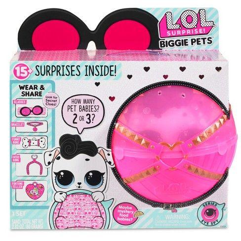 076211950751 L.O.L. Surprise! Biggie Pets - Dollmation Mini Backpack   Target