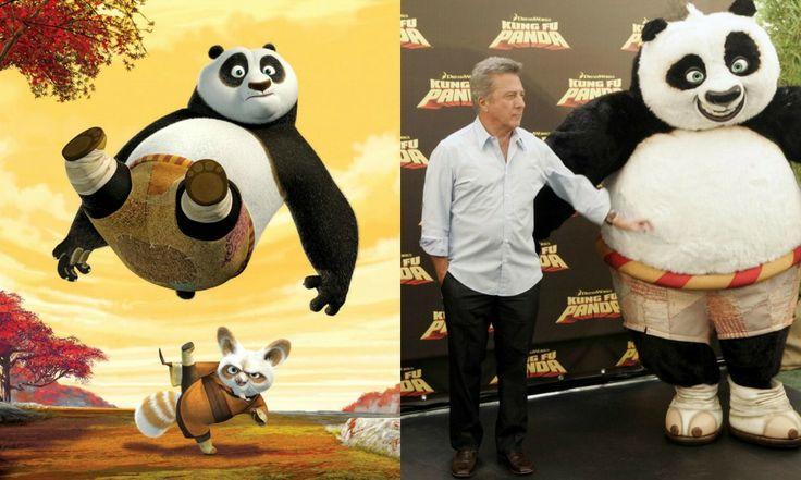 Hoffman nel 2008 è anche doppiatore: l'attore dà infatti la voce a Shifu, il maestro di arti marziali del cicciotto e incapace Po, protag...