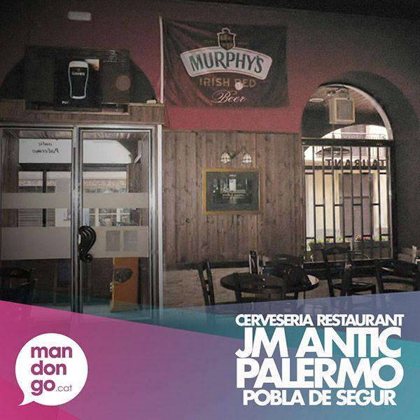Cerveseria Restaurant JM ANTIC PALERMO, La Pobla de Segur  Descobreix-lo a mandongo.cat: http://mandongo.cat/establiments/jm-antic-palermo-cerveseria-restaurant/  #Mandongocat #EstablimentsIServeis #PoblaDeSegur #Cerveseria #Restaurant #JMPalermo