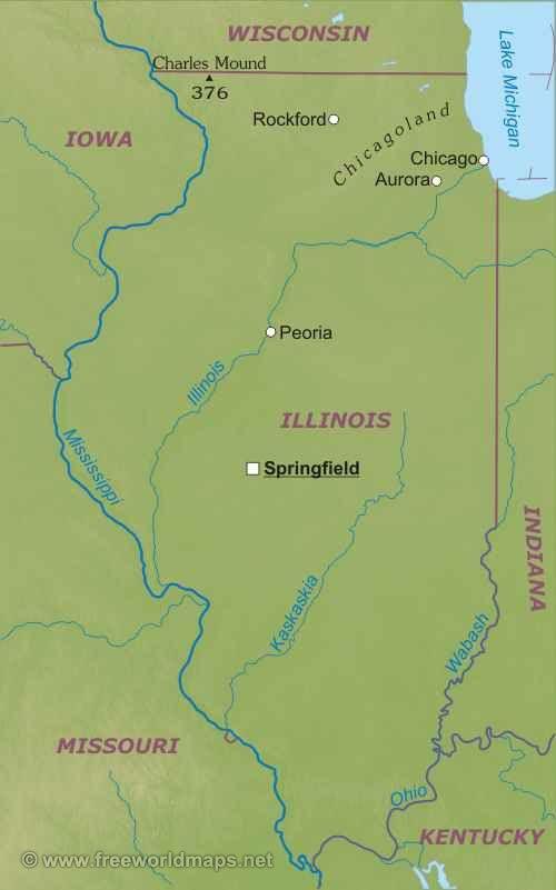 Иллинойс штат : флаг штата Иллинойс Иллинойс (англ. Illinois) — штат на Среднем Западе США. Площадь — 140 998 км². Население — 12 910 409 человек (2009), это пятый по количеству жителей штат. Столица — город Спрингфилд, крупнейший город — Чикаго; другие крупные города: Аврора, Рокфорд...