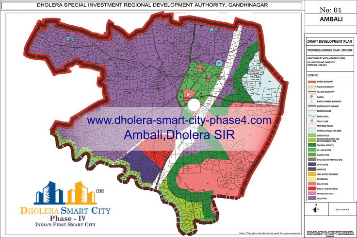 The Best Dholera SIR Village Map Images On Pinterest Village - Plot cities on a map