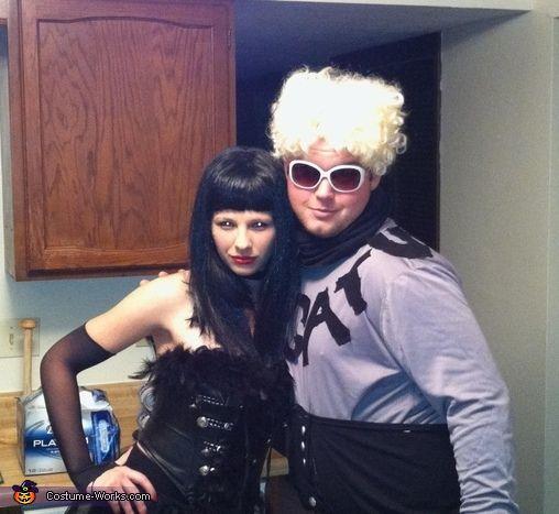 Mugatu and Katinka from Zoolander - Halloween Costume Contest via @costume_works