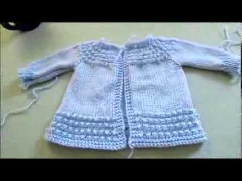 a5beb8589d03 How to knit raglan sweater for a child - video tutorial with ...