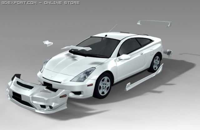 Toyota Celica Action Package body kit