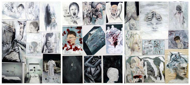 Top Art Exhibition - Painting » NZQA  Level 3 NCEA Folio